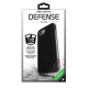 X-Doria Defense Lux cover - black leather - for iPhone 7