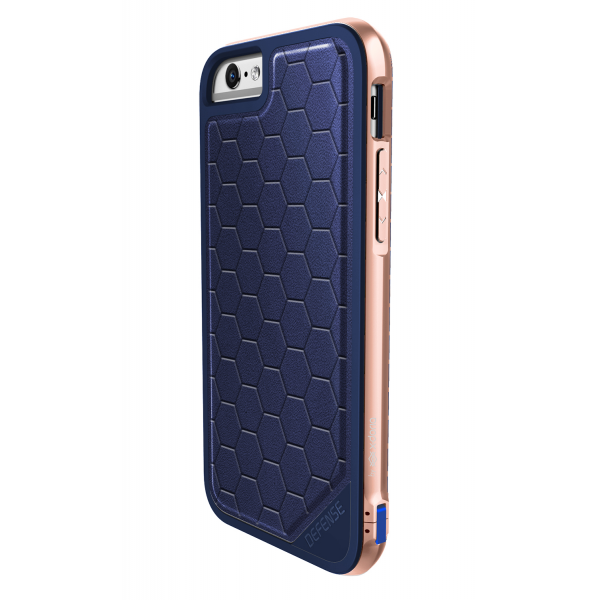 brand new 89a28 dc42d X-Doria Defense Lux cover - blue - for iPhone 7