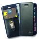 Azuri wallet tasje - zwart - voor iPhone 7 Plus