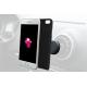 Azuri covermagnetique et support voiture magnetique - noir - pour iPhone 7