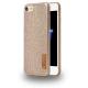 Azuri Elegante fabric cover - beige - pour iPhone 7