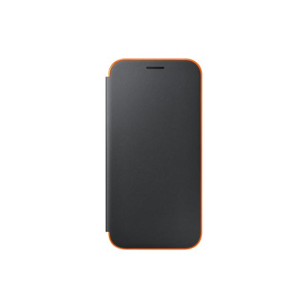 promo code c3f7d 85e12 Samsung neon flip cover - black - for Samsung A520 Galaxy A5 2017