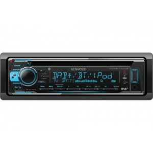 Kenwood Electronics KDC-BT710DAB Bluetooth Noir récepteur multimédia de voiture