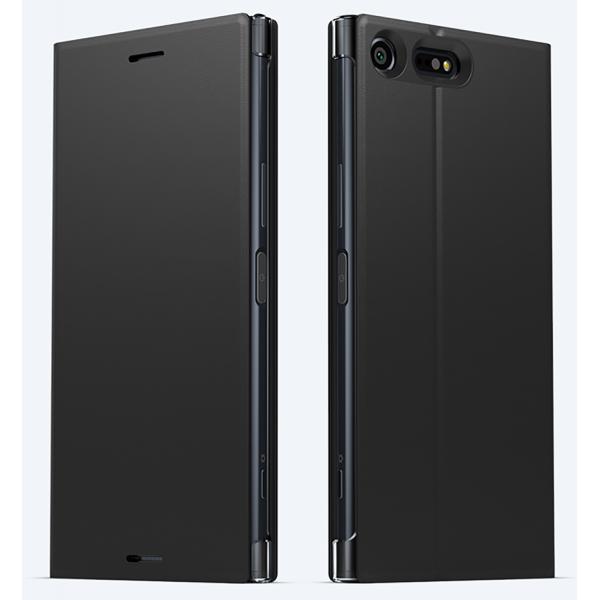 premium selection 66d51 e72be Sony flip cover style - black - for Sony Xperia XZ Premium