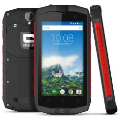 Crosscall Trekker M1 core 4G 16GB Zwart, Rood smartphone