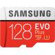 Samsung Evo + 128 GB micro SD class 10 - avec adapter