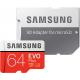 Samsung Evo + 64 GB micro SD class 10 - avec adapter