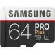 Samsung Pro + 64 GB micro SD class 10 - met adapter