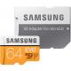 Samsung Evo 64 GB micro SD class 10 - avec adapter