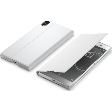 buy online ec019 cc24b Sony flip cover style - white - for Sony Xperia XA1 Ultra