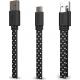 I-Paint câble USB avec connecteur USB Type C - pois