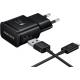 Samsung universele USB-C thuislader + datakabel - zwart - snel laden