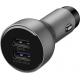 Huawei Supercharge autolader + datakabel USB-C - super snel laden - zilver