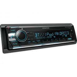 Kenwood Electronics KDC-X5100BT 200W Bluetooth Noir récepteur multimédia de voiture