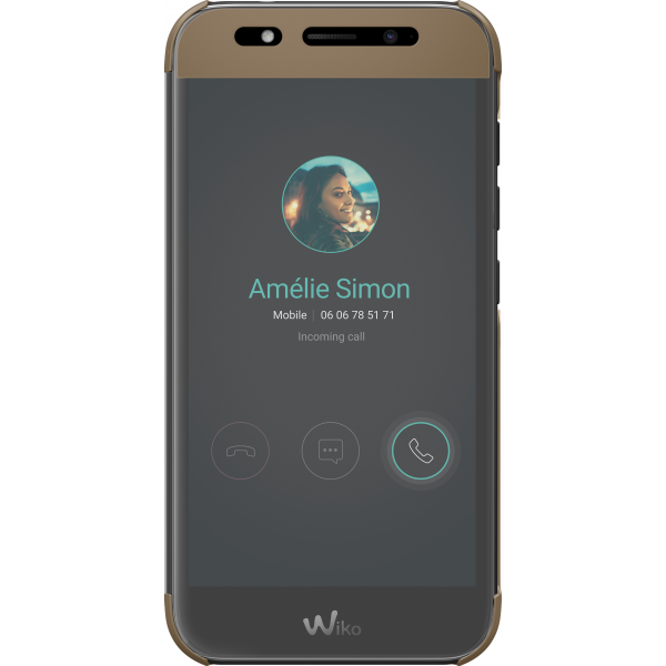 Wiko view cover beige wiko wim lite for Housse wiko wim lite