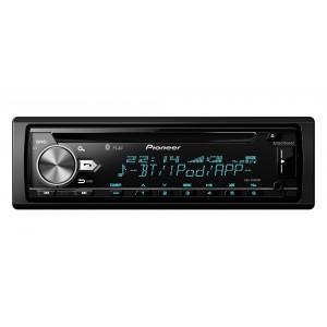 Pioneer DEH-X5900BT Bluetooth Noir, Argent récepteur multimédia de voiture