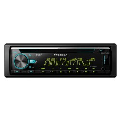 Pioneer DEH-X7800DAB 200W Bluetooth Black car media receiver
