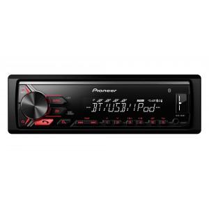Pioneer MVH-390BT 200W Bluetooth Noir récepteur multimédia de voiture