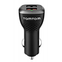 TomTom double chargeur voiture - noir