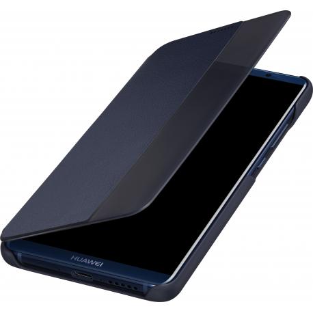 foto ufficiali d08e4 c52bb Huawei flip view cover - blue - for Huawei Mate 10 Pro