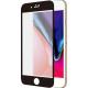 Azuri Curved Tempered Glass RINOX ARMOR - zwart frame - voor iPhone 7/7s Plus