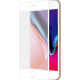 Azuri Curved Tempered Glass RINOX ARMOR - frame white - pour iPhone 7/7s Plus