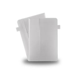 Azuri book case avec mode lecture et card slots - blanc - pour all 10 inch tab