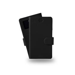 Azuri booklet universel - noir - large