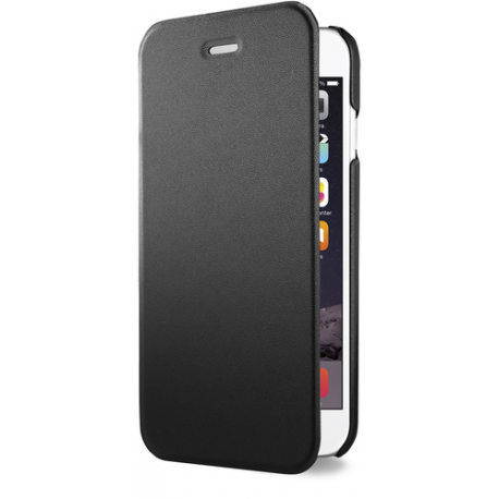Azuri booklet ultra thin - zwart - voor Apple iPhone 6/6S - 4.7""