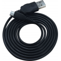 Azuri USB Sync- and charge cable - USB Type A to Micro USB - 2m - noir