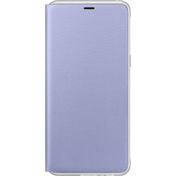 the best attitude e290a b48f2 Samsung neon flip cover - orchid grey - for Samsung Galaxy A8 2018 (A530)