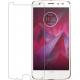 Azuri Tempered Glass flatt RINOX ARMOR - black frame - Motorola Moto Z2 Force