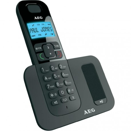 AEG Voxtel D500 DECT telephone Black
