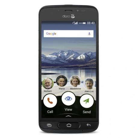 Doro 8040 Single SIM 4G 16GB Black