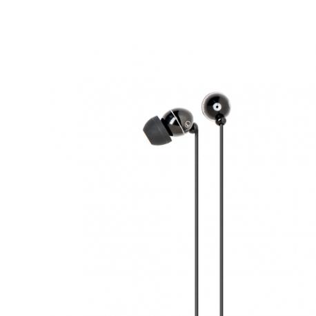 Azuri stereo portable handsfree headset - black - 3.5 mm - universal