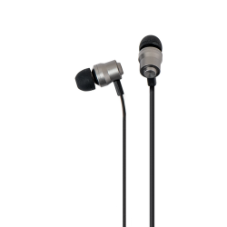 Azuri stereo portable handsfree headset - premium - 3.5 mm - universal - black