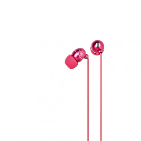 Azuri stereo portable handsfree headset - pink - 3.5 mm - universal