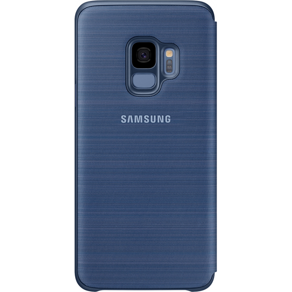 buy online 35217 91f0d Samsung LED view cover - blue - for Samsung Galaxy S9