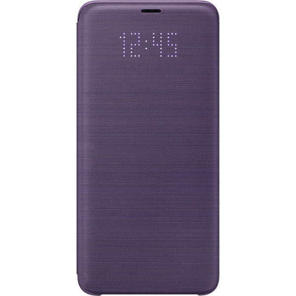 online retailer 7eea5 823f1 Samsung LED view cover - violet - for Samsung Galaxy S9 Plus