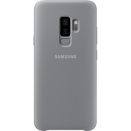 reputable site 525ee 31945 Samsung silicone cover - grey - for Samsung Galaxy S9 Plus