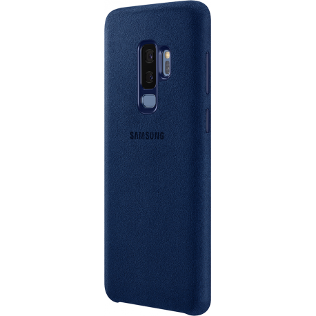 differently 9ca25 c4ed7 Samsung Alcantara leather cover - blue - for Samsung Galaxy S9 Plus