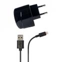 Azuri thuislader met Apple lightning connector - zwart