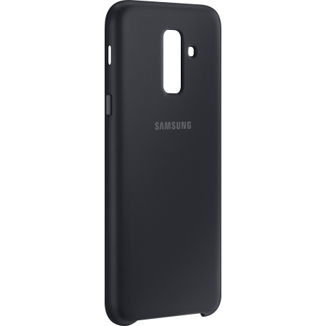 the best attitude 8f225 2ee06 Samsung dual layer cover - black - for Samsung A605 Galaxy A6 Plus