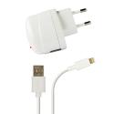 Azuri thuislader met Apple lightning connector - wit