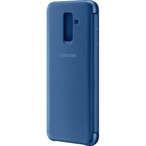 the latest 60dfa d69f4 Samsung flip wallet - blue - for Samsung A605 Galaxy A6 Plus
