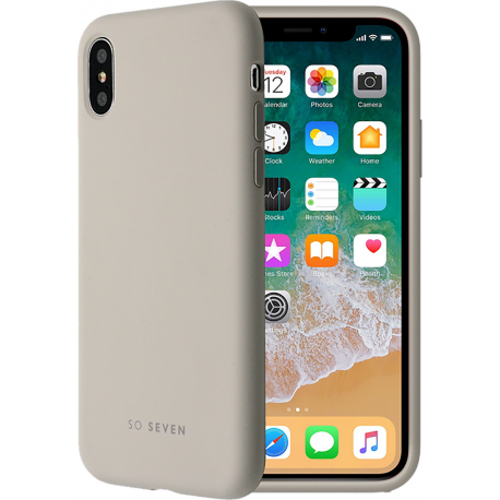 huge discount 97a02 4581b So Seven Smoothie Case - Stone Grey - for Apple iPhone 7/8