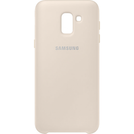 check out 9a857 a813c Samsung dual layer cover - gold - for Samsung Galaxy J6