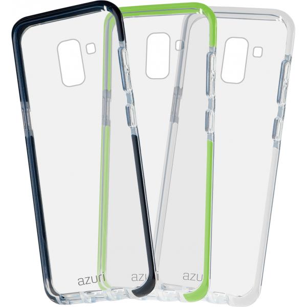 best loved b44d5 d1e2f Azuri flexible bumpercover - black - for Samsung J6 (2018)