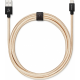 USBEPOWER FAB 250cm cable USB avec connexion Apple lightning - or