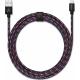 USBEPOWER FAB 250cm USB kabel met Apple lightning connector - Graffiti